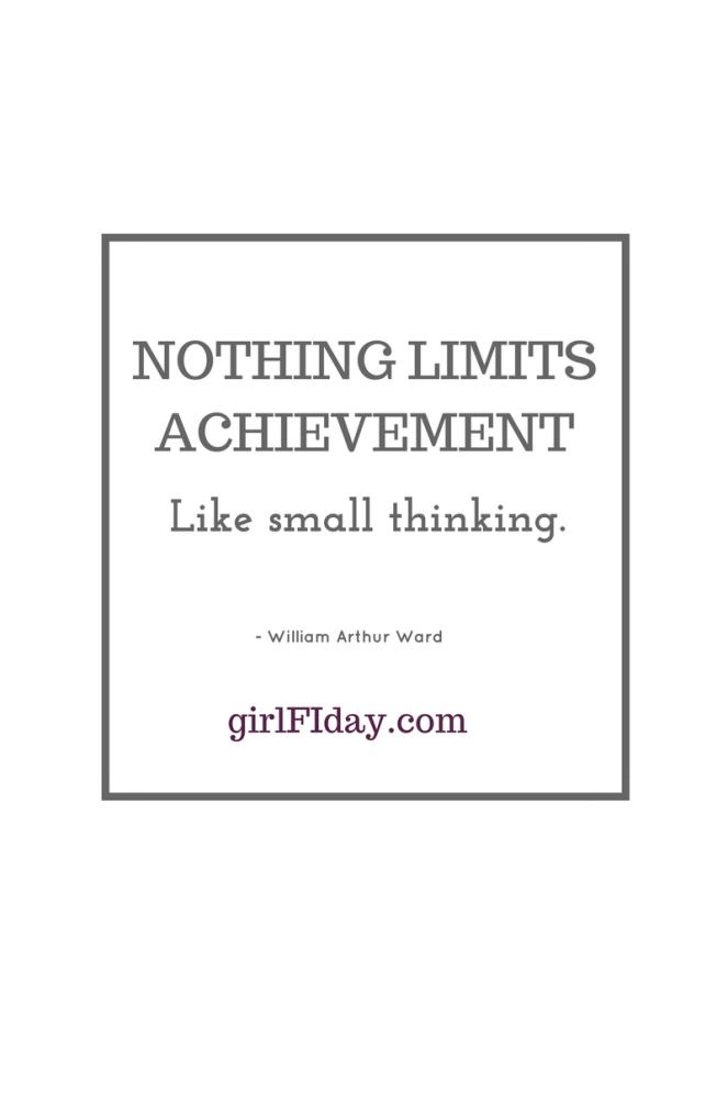 Nothing limits achievement square