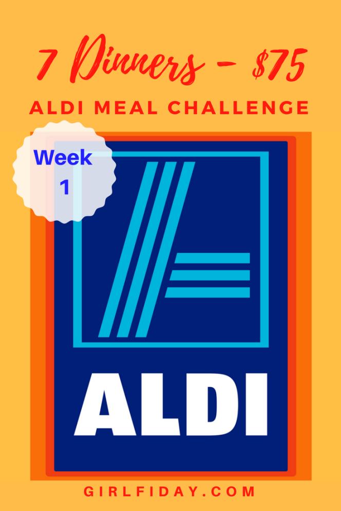 Aldi Challenge Week 1 PINTEREST