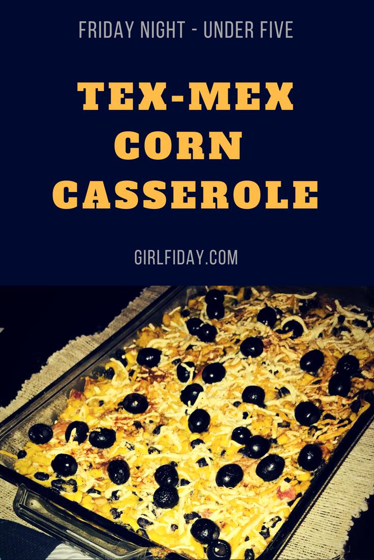Tex-MexCorn Casserole PINTEREST