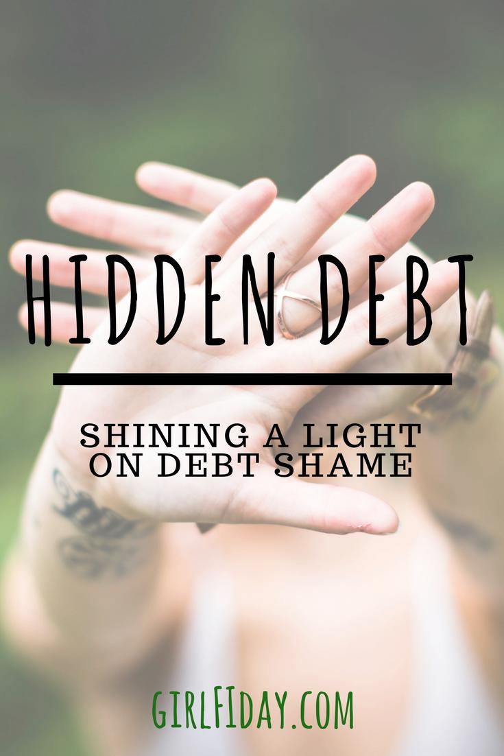 Debt Shame PINTEREST