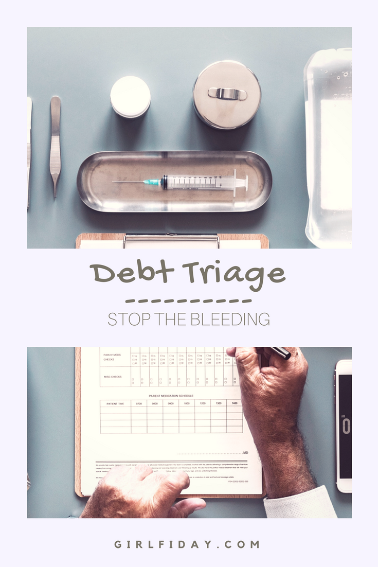 Debt Triage PINTEREST